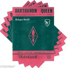 Traveller Darthanon Queen Adventure with Deck Plans - Bonus Pack X5 G