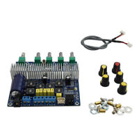 UK_ Bluetooth HiFi TPA3116 Audio Stereo Amplifier Board 2.1 Channel Power Subwoo