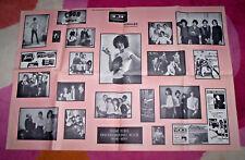 PATTI SMITH, RICHARD HELL, TELEVISION etc POSTER ~ New York PUNK. large, 1982.