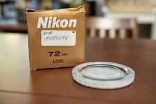 Nikon L37C (2415) 72 mm Filter w/Box and Case