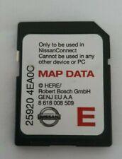Genuine Nissan 2014 2015 2016 Satellite Navigation SAT NAV SD Card 25920 4EA0C