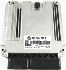 COMPUTER ECU VW GOLF 03G906016R 0281012220 IMMO OFF