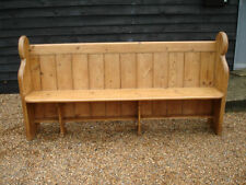 Pine Victorian Antique Benches