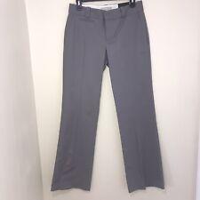 NWT Banana Republic Woman's Martin Fit Trousers Dress Pants Gray Size 6R