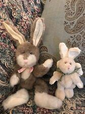 Boyd's Bears Covington Plush Rabbit Jill Hopkins Bunny Angel Ornament Easter #D4