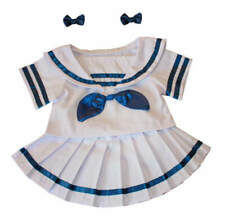 "Teddy Mountain Sailor Girl w/ Bows Fits all 14""-18"""