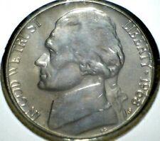 1968S Proof Jefferson Nickel BU Nice Uncirculated in Flap