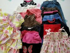 Baby Girl 6-12 M Clothes Lot 15 Piece Outfits Roxy Oshkosh Baby Gap Old Navy