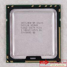 Intel Xeon E5645 CPU (AT80614003597AC) LGA 1366 SLBWZ 2.4/12M/1333 Free ship