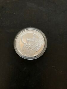 1oz  999 silver coin 2021 the queens virtues victory