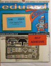 Eduard 1/48 fe619 zoom a colori Etch per l'Kinetic f-5a Tiger