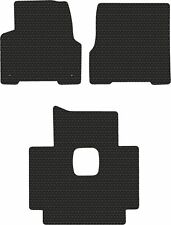 Volvo Truck VN VNL VT Black Rubbertite All-Weather 3PC Floor Mats Fits 1998-2018