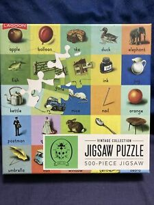 Lagoon Ladybird Books Abc 500 Piece Jigsaw Puzzle Completed Once From New