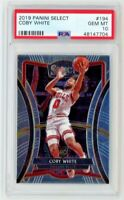 2019 Select Basketball Coby White ROOKIE RC #194 PSA 10 GEM MINT