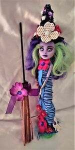The wavering witch an ooak monster high doll custom repaint