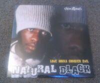 NATURAL BLACK - LOVE GONNA CONQUER EVIL LP MINT / SEALED!!! UK COU$INS RECORDS