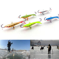 9.5g/6cm Ice Fishing Lure Winter Fishing Bait Lead Jigging Bait Hard Lure 1/5x·