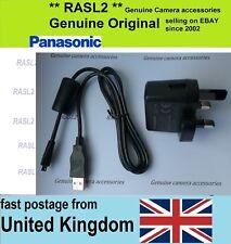 Original  Panasonic VSK0775 Charger + USB Cable DMC-TZ70 DMC-TZ71 ZS50 DMC-LF1