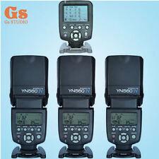 Yongnuo YN560TX LCD Wireless Flash Controller +3pcs YN560 IV Flash kit For Canon