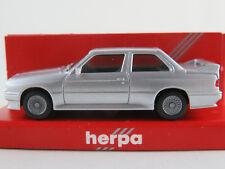 Herpa 3061 BMW M3 (1986-1991) in silbermetallic 1:87/H0 NEU/OVP