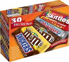 Mars M&M'S, SNICKERS, 3 MUSKETEERS, SKITTLES & STARBURST  Chocolate Candy Variet