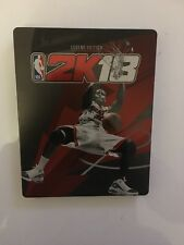 NBA 2K18 Steelbook Collectable PS4/Xbox One Case Legend Edition(NO GAME)-10 Pack