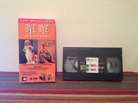Les meilleurs Bye Bye 1982 et 1984 VHS tape & sleeve Quebec CLASSIC FRENCH rare