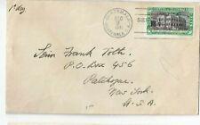 Guatemala - FDC 1941 - 2. Panamerikanischer Gesundheitstag - gelaufen USA