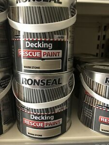 Ronseal Decking  Warm Stone 2.5  Litre