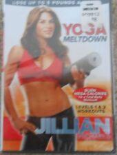 Jillian Michaels Yoga Meltdown Workout DVD Fitness Exercise Stretch New Level 1