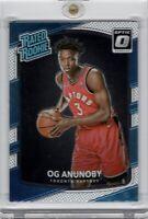 2017-18 Panini Donruss Optic Rated Rookie #178 OG Anunoby RC Toronto Raptors