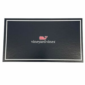 """NEW w/ box Vineyard Vines Wounded Warrior Project Scarf Blue 56"""" x 10.5"""""""