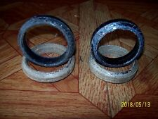 VINTAGE STANDARD SIZE EXHAUST DONUTS-FIT MOST SMALL TO BIG BLOCK ENGINES