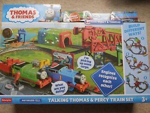 BNIB - Thomas And Friends Talking Thomas and Percy Train Set  BRAND NEW IN BOX