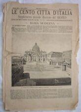 1887 CENTO CITTA ITALIA ROMA MODERNA MODERN ROME 29 INC