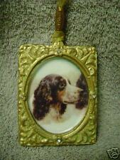 Artisan-Made Cast Spaniel Pointer Setter Ornament