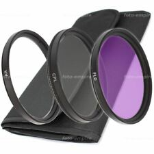 37mm UV Filter & Polfilter CPL Filter & FLD Filter & Filtertasche für Objektive