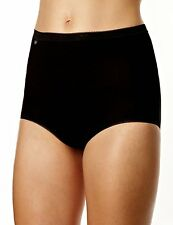 sloggi Womens Basic Maxi Brief Black 4 Pack 2954 28