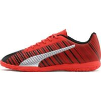 Chaussures de football Puma One 5.4 It Jr 105654 01 rouge rouge