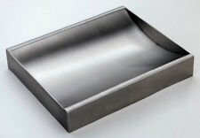 """Stainless Steel Countertop Deal Tray, Brushed Finish, 12"""" (w) x 10"""" (d)"""