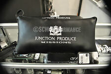 Junction Produce VIP Missions Half Cushions Throw Pillow BLACK GENUINE 2PC Set