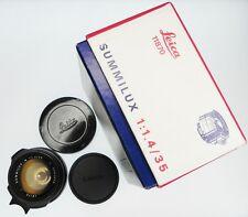 Leica 35mm f1.4 Summilux-M #3253678