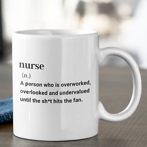 Definition of a Nurse Fun Mug Gift NHS Nurse Frontline Worker Gift