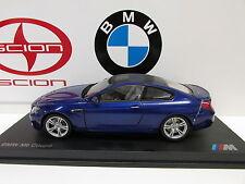 BMW Genuine OEM BMW Miniature M6 (F13) San Marino Blue  1:18