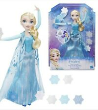Disney Frozen Snow Powers Elsa Doll New Hasbro 3+ Winter USA Seller