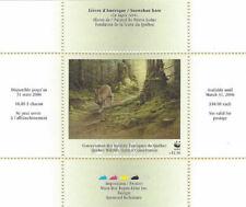 2005  Canada Quebec  Wildlife Habitat Conservation  -DQ48 WWF  Mint NH
