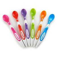 MUNCHKIN 6 SOFT TIP BABY FEEDING SPOONS - WAREHOUSE CLEARANCE