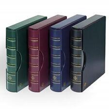301687 Leuchtturm Ringbinder GRANDE Classic mit Schutzkassette, blau