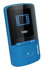 Philips Sa4vbe04bn/12 GoGear Mp4-player mit FullSound blau