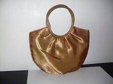 AVON Evening/Cosmetic Bag Gold Satin Finish 6 x 8 1/2 NOS